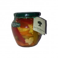 Giardiniera sweet and sour 580 gr