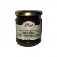 Cicoria e salsiccia 212 gr