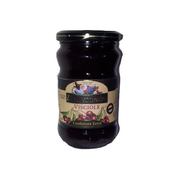 Sour cherries extra jam 380 gr