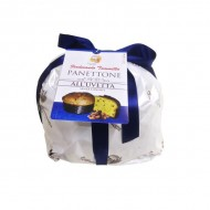 Handmade Panettone with raisins and without candied 1 kg