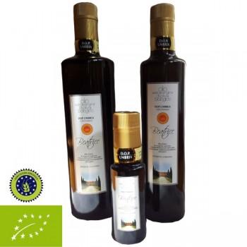 Olio Extravergine di oliva biologico DOP Umbria 2015 0,75 Lt