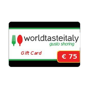 Buono regalo da € 75