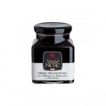 Confettura di More selvatiche con miele di zagara e malvasia